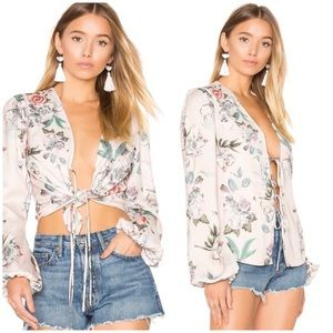 NEW Majorelle Coco Floral Top